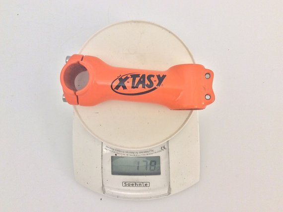 "Xtasy Vorbau 1 1/8"" 105mm ca. 5° 25.4mm Marzocchi Bomber orange"
