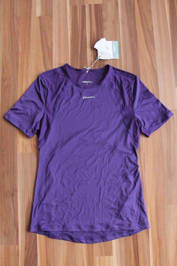 Craft Cool Women Concept Piece kurzarm Unterhemd Gr. S lila
