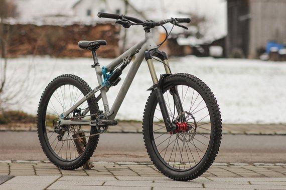 """NS Bikes Soda FR """"L"""" Custom RAW"""