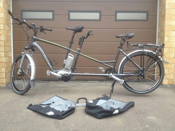 Flyer Tandem E-Bike Modell 7.80 inkl. Fahrradhänger