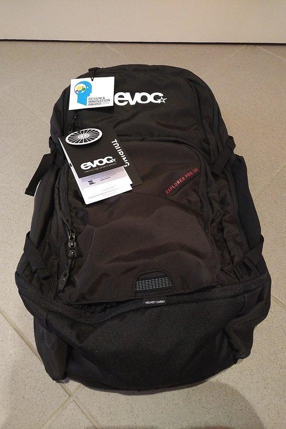 Evoc Explorer Pro 30L black - neu und unbenutzt