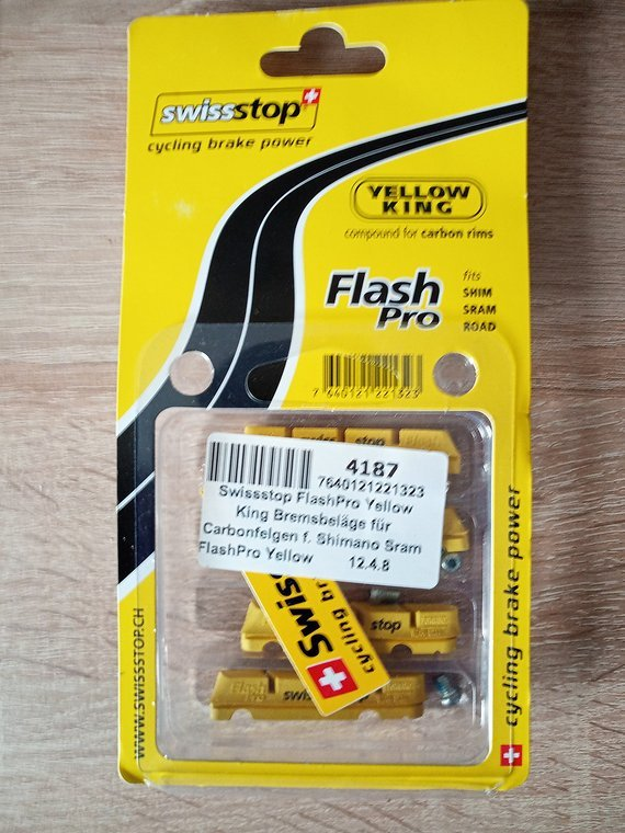 Swisstop Yellow King Flash Pro
