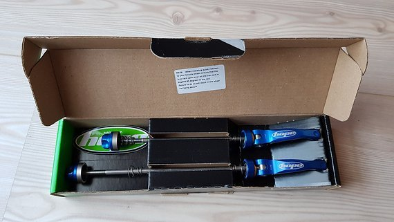 Hope Schnellspanner Set MTB   Blau
