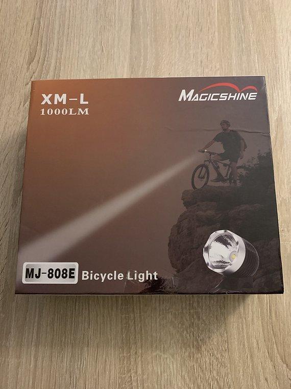 Magicshine Fahrradlampe MJ 808E CREE XM-L LED Lampe