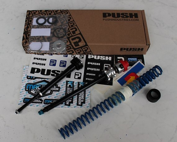 Push Industries ACS3 - Fox 36 170mm + Feder für 80-82kg (blau)