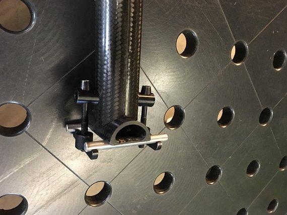 Mcfk Sattelstütze 31,6mm Carbon MCFK