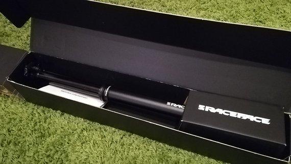 Raceface (Baugleich 9Point8 Falline) Turbine Dropper, 150mm, 31,6mm, neuwertig, Remotehebel geschenkt! NP: 399€ +69€