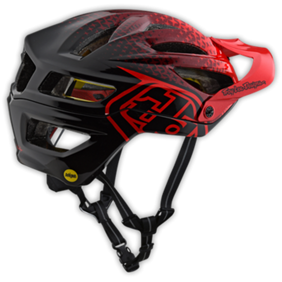 Troy Lee Designs A2 HELM *NEU* MIPS STARBURST RED Gr. XS/S 54-57 cm