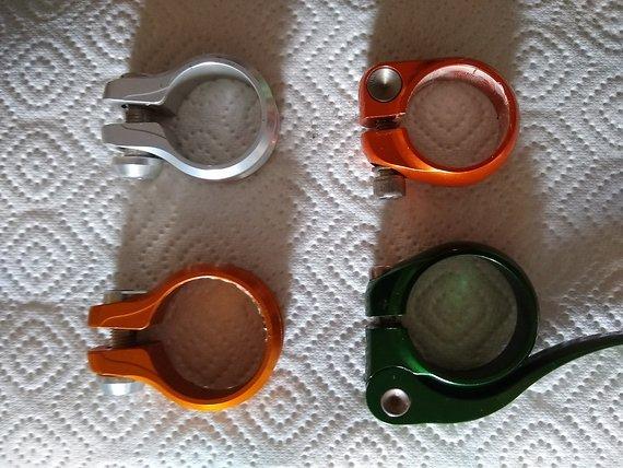 Hope / Salsa Sattelklemmen 35mm und 30mm