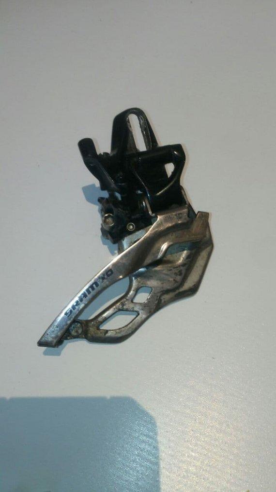 SRAM X.0 Umwerfer 2-Fach, high direct mount H0