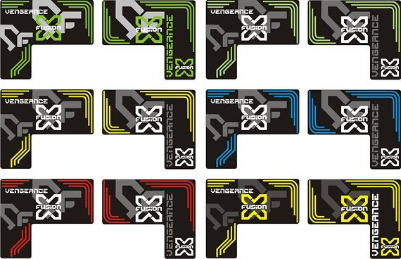 X-Fusion Decals