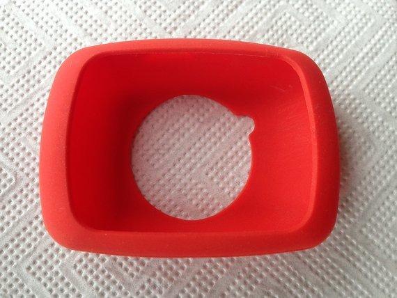 Marke Unbekannt Schutzhülle für GARMIN Edge 500 Gummi rot