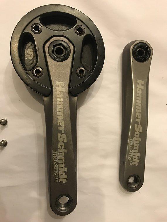Truvativ Hammerschmidt AM 175mm Getriebekurbel incl. Innenlager