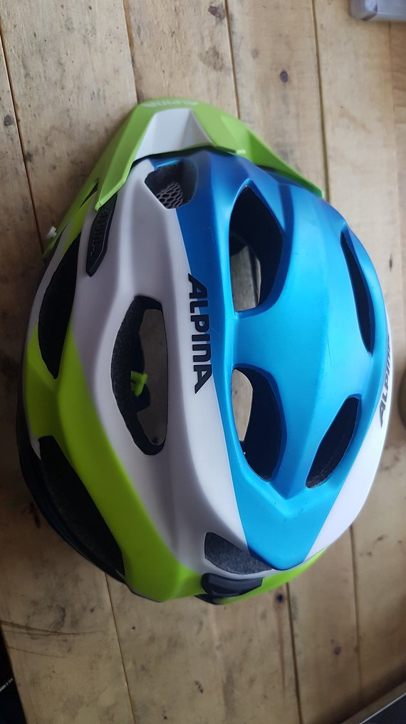 Alpina Carapax Enduro / MTB Helm Gr.52-57cm