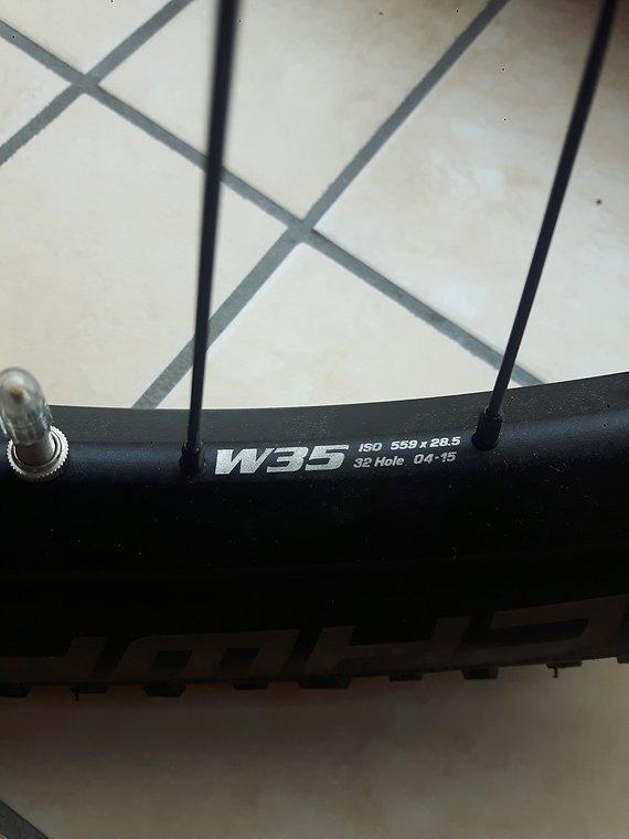 Syntace W35 MX Boost Disc 6-Loch 26