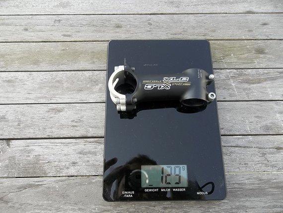 XLC Pro Lite A-head Vorbau Klemmung 31,8mm