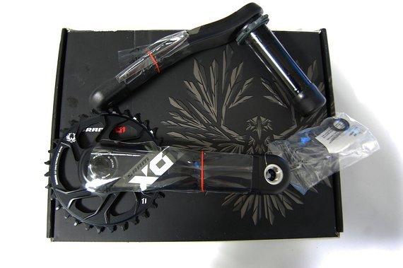 SRAM X01 Eagle 12fach black Kurbel 170mm BB30 Boost NEU OVP