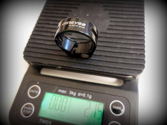 Gineyea SATTELKLEMME 31.8mm