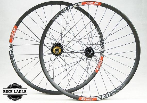 DT Swiss EX 471 Singlespeed Laufradsatz 26 Zoll mit Profile Racing Elite Naben / Bike-Lädle Laufradbau