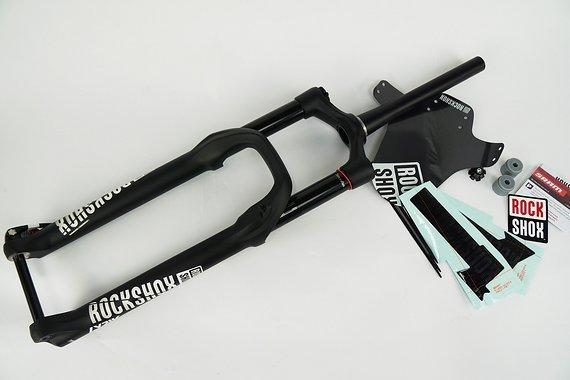 RockShox Lyrik RC2 Debon Air Schwarz Federgabel 27,5 160mm Modell 2019