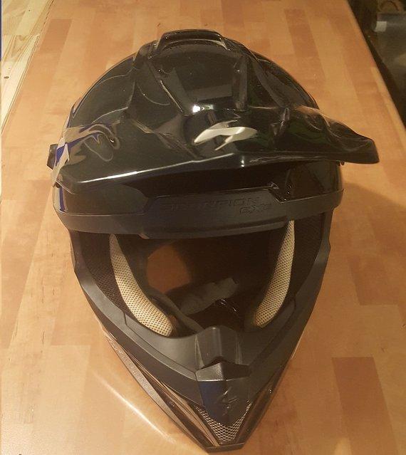 Scorpion vx 15 evo air Mx Helm