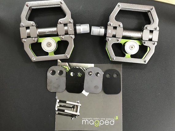 Magped SPORT Magnetpedal Plattformpedal SCHNÄPPCHEN *NEU*