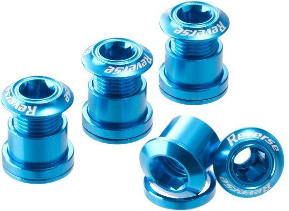 Reverse Components Kettenblattschrauben hellblau *VERSANDKOSTENFREI*