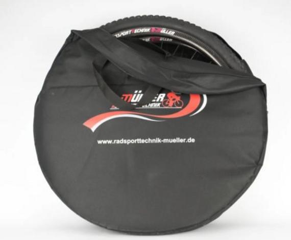 Radsporttechnik Müller Laufradtasche ,Doppellaufradtasche für 2 Laufräder