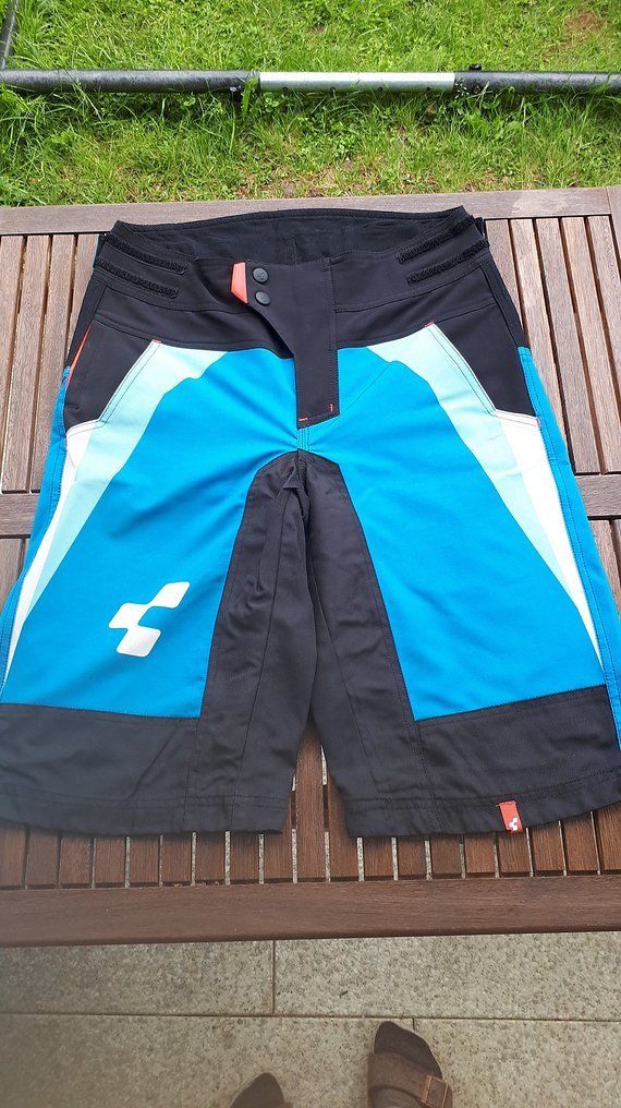 Cube Action Team Shorts blau-hellblau-weiß in XS